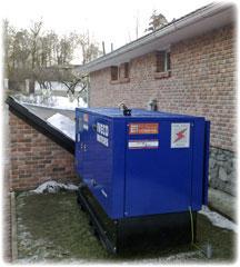 Электростанции для резервного энергоснабжения загородного дома