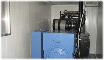 Монтаж дизельных и газовых генераторов в контейнеры