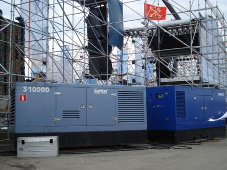 Аренда дизельных электростанций в Санкт-Петербурге