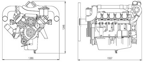 Двигатель Doosan P180LE