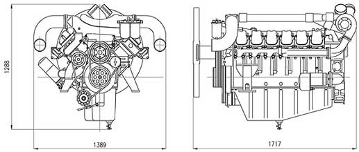 Двигатель Doosan P222FE