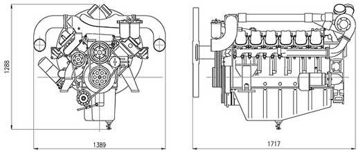 Двигатель Doosan P222LE