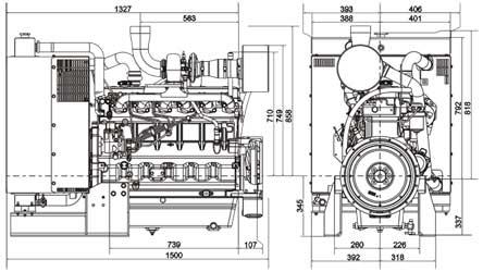 Двигатель John Deere 6068HF 258