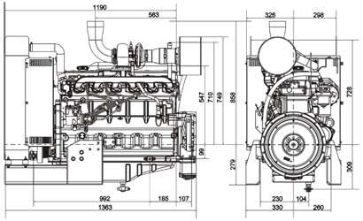 Двигатель John Deere 6068TF 258