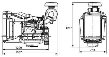 Двигатель Volvo TAD531 GE