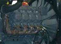 Двигатель с электронным управлением