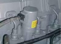 Двигатель с водяным охлаждением