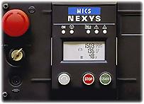 Панель управления Nexys