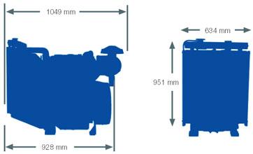Двигатель Perkins 1103A-33TG1