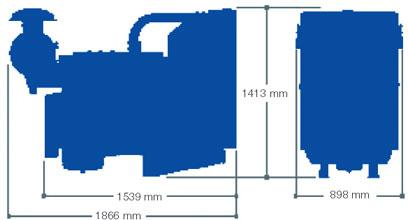 Двигатель Perkins 1306A-E87TAG3