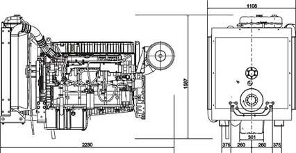 Двигатель Volvo TAD1240 GE