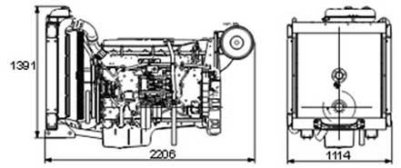 Двигатель Volvo TAD1344 GE