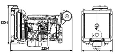 Двигатель Volvo TAD1352 GE