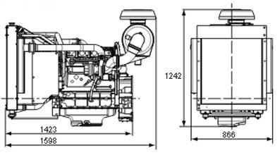 Двигатель Volvo TAD532 GE