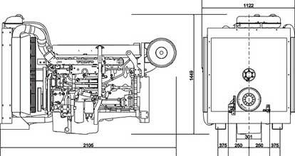 Двигатель Volvo TAD941 GE
