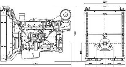 Двигатель Volvo TAD1643 GE