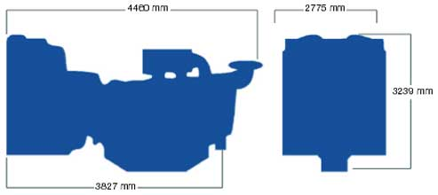 Двигатель Perkins 4016TAG1A