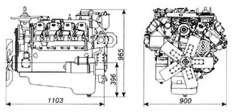Двигатель Камаз 742.10-130
