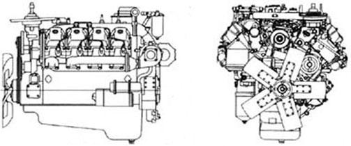 Двигатель Камаз 740.58-300