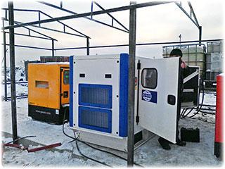 Обслуживание электростанций (ДЭС)
